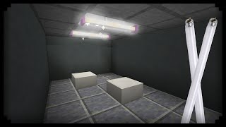 ✔ Minecraft: How to make a Fluorescent Lamp