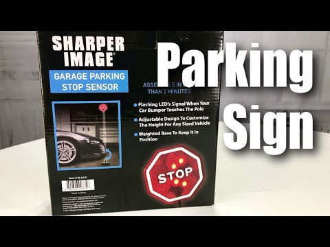 Sharper Image SI-AA11 LED Garage Parking Stop Sign Review