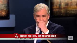 Conrad Black: Black on Red, White and Blue
