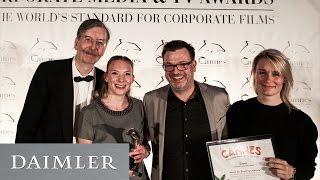 Daimler Unternehmensfilm | Auszeichnung in Cannes mit silbernen Delfin