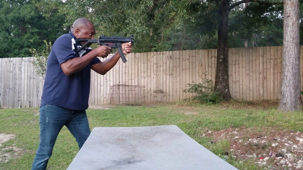 MKE HK CLONE FULL AUTO CONVERSION TEST FIRE