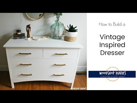 How to Build a DIY Changing Table Dresser