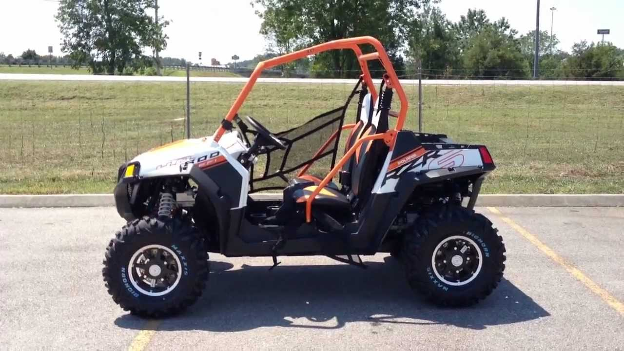 medium resolution of 2013 polaris ranger rzr s 800 le in orange and white at tommy s motorsports youtube