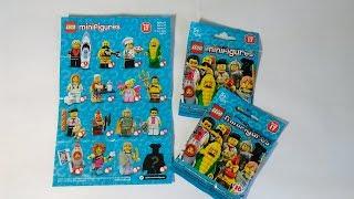 Lego Minifigures 71018 серія 17 огляд і розпаковування