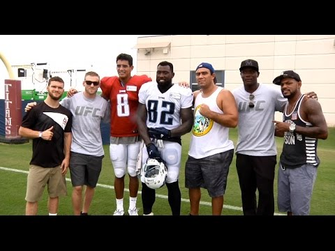 Fight Night Nashville: UFC Fighters Meet the Tennessee Titans