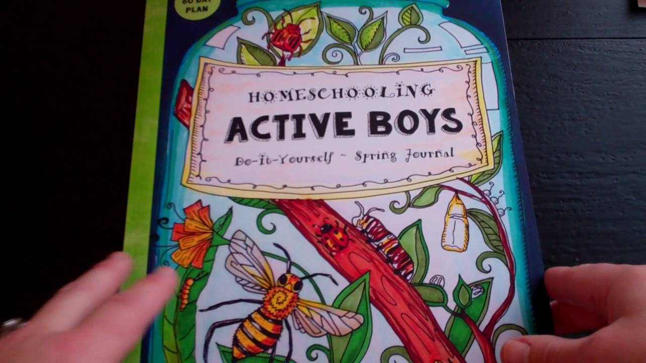 Spring homeschooling journal for active boys thinking tree by spring homeschooling journal for active boys thinking tree by sarah brown solutioingenieria Image collections