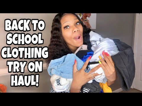 HUGE BACK TO SCHOOL CLOTHING TRY ON HAUL!! | YOINS