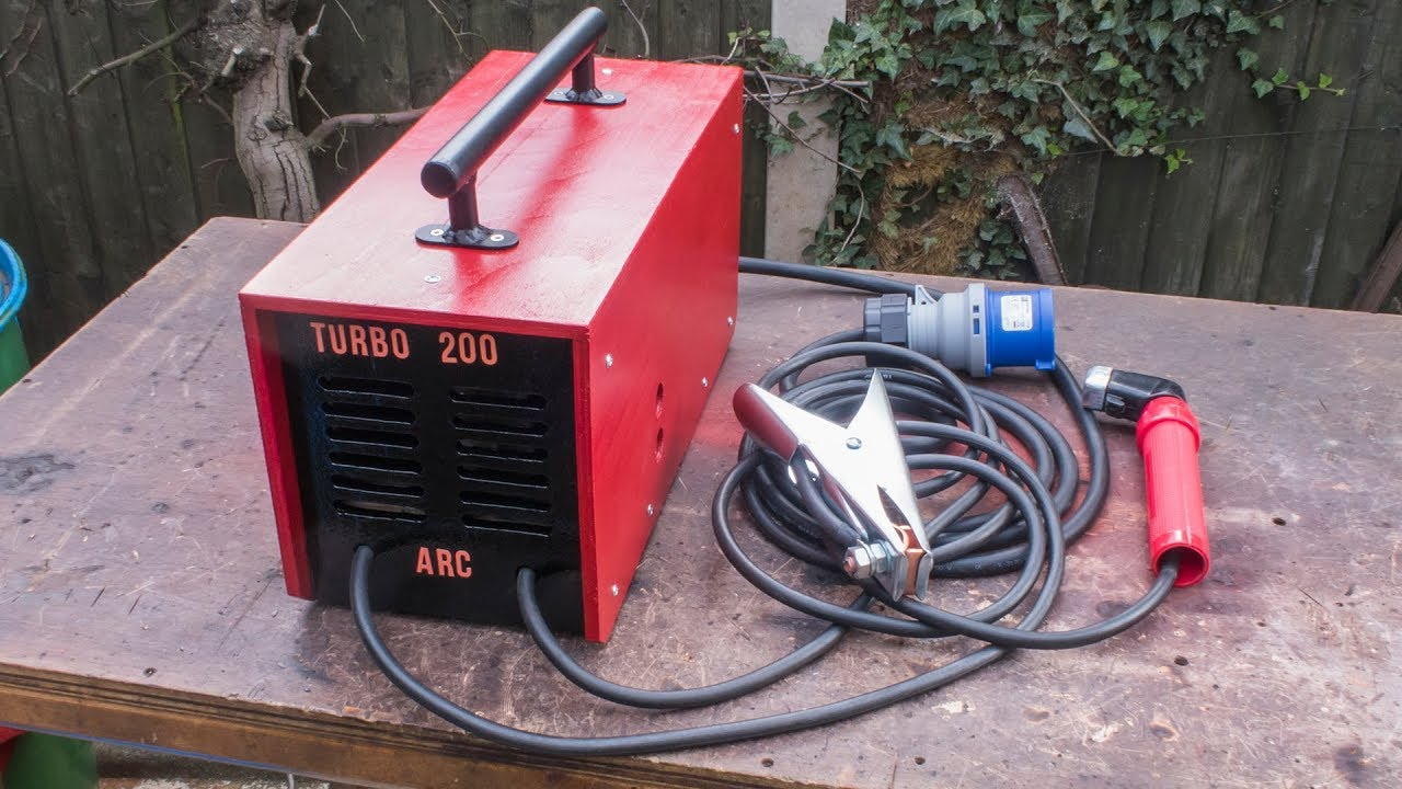 homemade 200 amp arc welder using microwave transformers [ 1280 x 720 Pixel ]