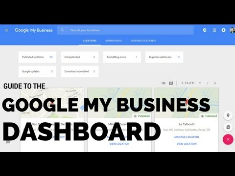 Guide to your Google My Business Dashboard