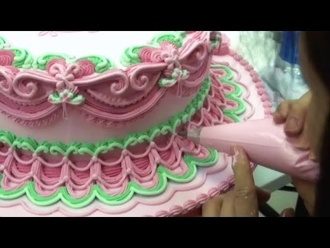Cake Decorating Techniques Ideas Wedding Cakes How To Pipe
