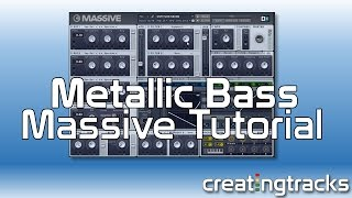 Massive Metallic House Pluck Bass Creating Tracks