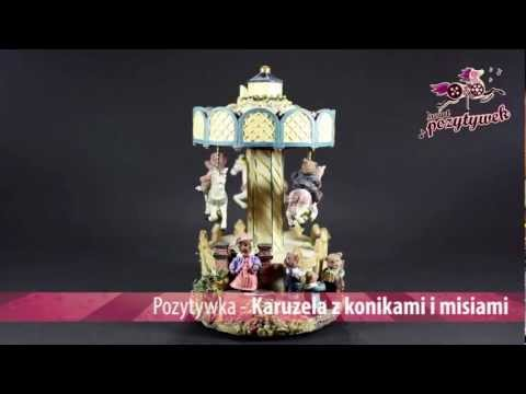 Pozytywka - Karuzela z konikami i misiami - 25056