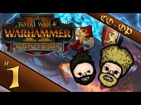 New Campaign | Total War: Warhammer 2 - Mortal Empires | CO-OP Bretonnia & The Empire Campaign #1