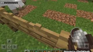 Miencraft pe odc.9 wodne wejście, farma zwierzat, farma zboza,telewizor