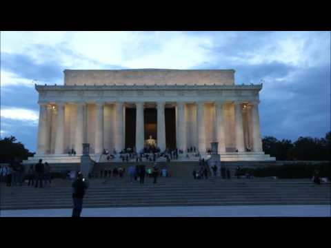 Foto's Lincoln Memorial, Washington DC