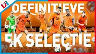Met Deze Selectie Moet Oranje Het EK Winnen! LIVE!