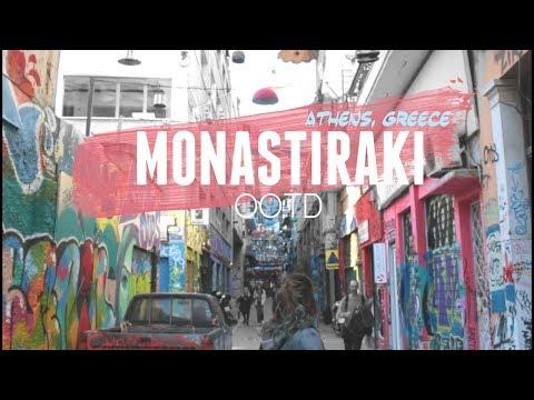 [VLOG] A Walk around Central Athens - Monastiraki, Athens Greece -  Roxanne