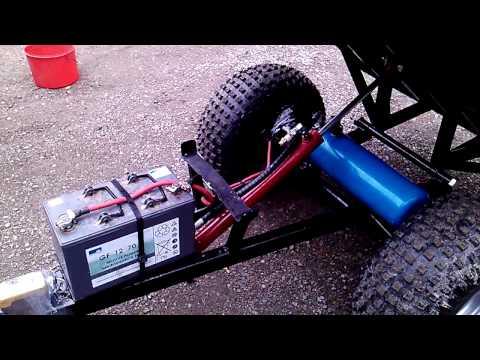 ATV trailer hydraulics II @Retu