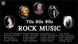 Download lagu 70s 80s 90s Rock Playlist | Best Rock Songs Of 70's 80's 90's
