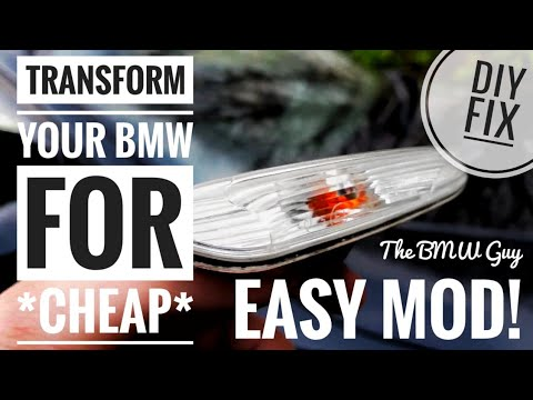 How to *RESTORE* your BMW SIDE INDICATOR [E81, E87, E82, E88, E90, E91, E92, E60, E61]