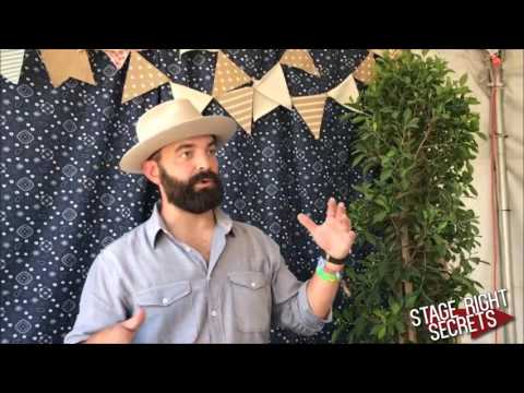 Drew Holcomb Interview at Stagecoach