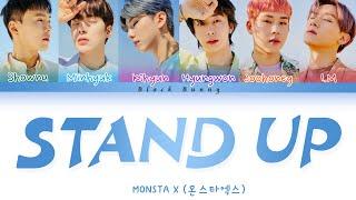 MONSTA X (몬스타엑스) - Stand Up (Color Coded Lyrics Han/Rom/Eng/…
