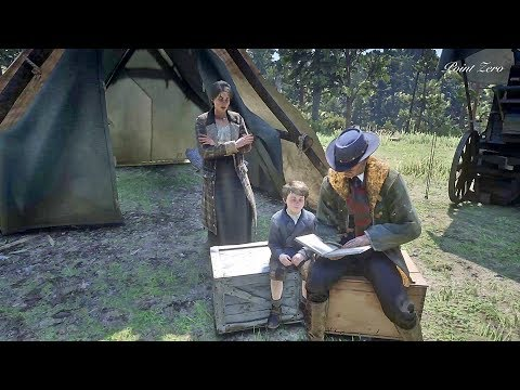 Hosea Teaching Jack to Read / Hidden Dialogue / Red Dead Redemption 2 thumbnail
