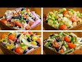 4 Salad Recipes For Weight Loss Vegetarian   Healthy Salad Recipes