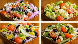 4 Salad Recipes For Weight Loss Vegetarian | Healthy Salad Recipes