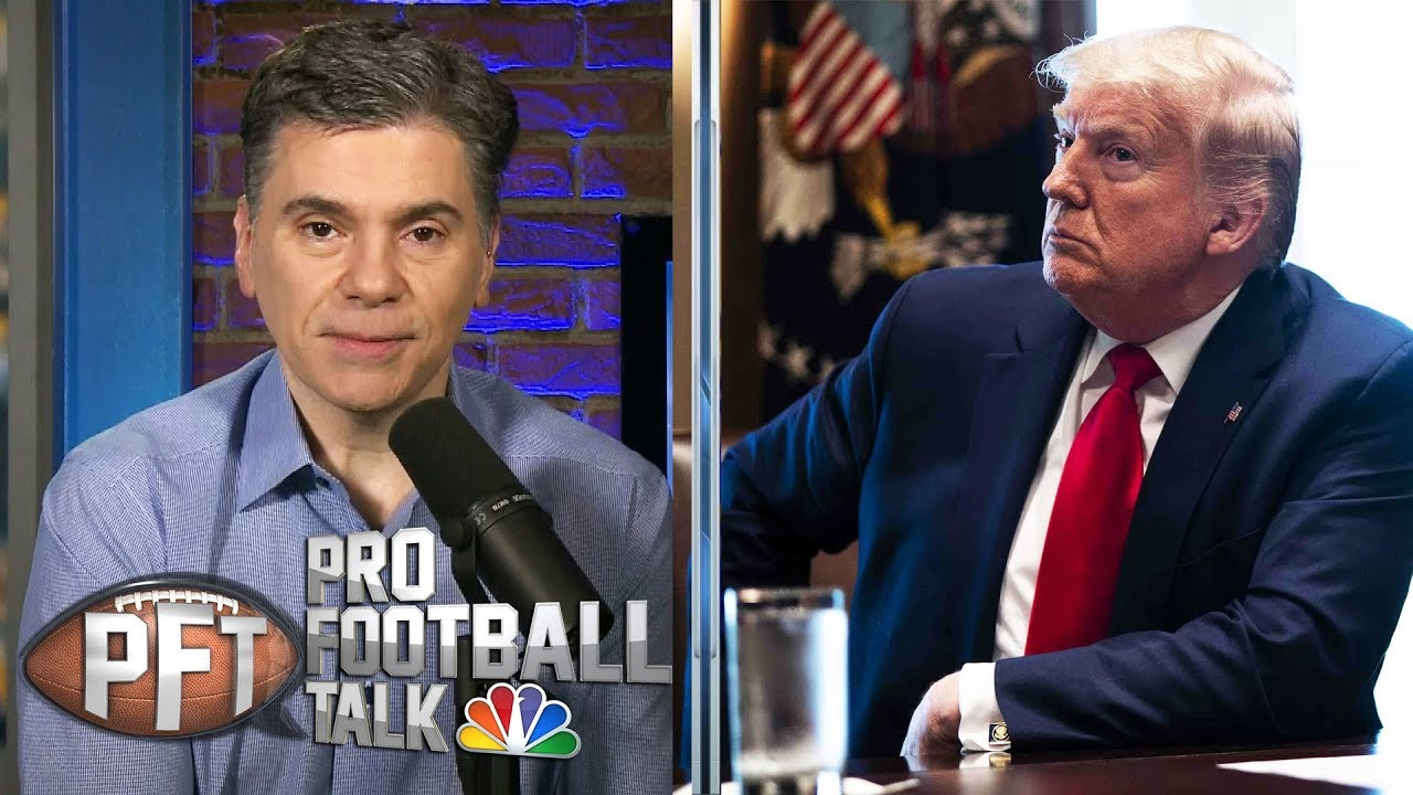 President Trump reportedly believes NFL season will start on time | Pro Football Talk | NBC Sports