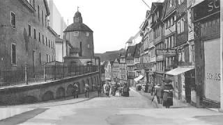 Die vom Krieg verschont gebliebene Stadt Siegen