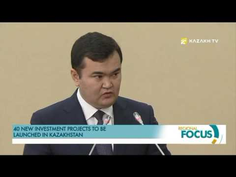 40 new investment projects to be launched in Kazakhstan