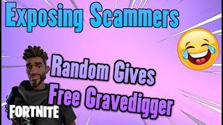 EXPOSING SAVE THE WORLD SCAMMERS (I GOT FREE MOONGLOW AND 130 GRAVEDIGGER) Fortnite Funny Moments