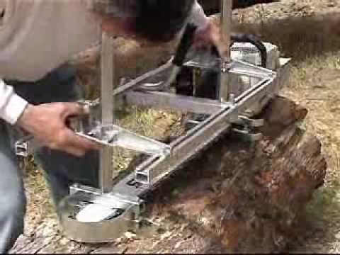 Granberg Alaskan Chainsaw Mill
