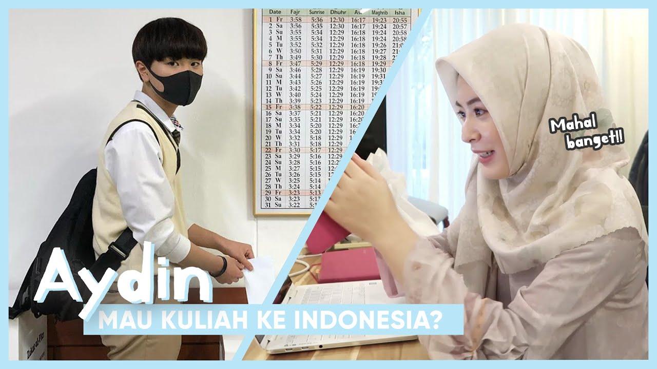 AYDIN MAU KULIAH DI INDONESIA ???