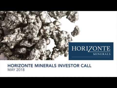 Horizonte Minerals Investor Call -  09 May 18