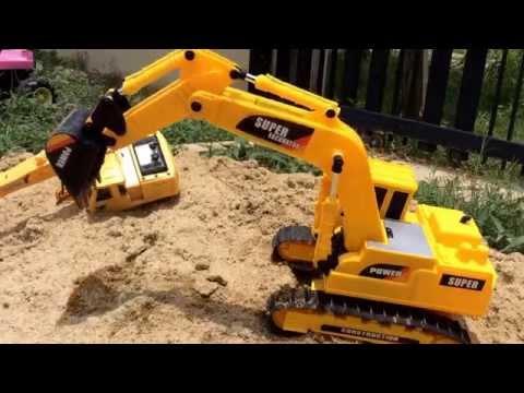 รถแม็คโคร รถตักดินใหญ่ บังคับ  Excavator Rc TheKidsToy