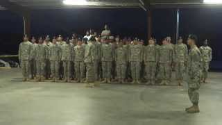Getting smoked in the last formation of BCT in Fort Jackson, SC Part 1