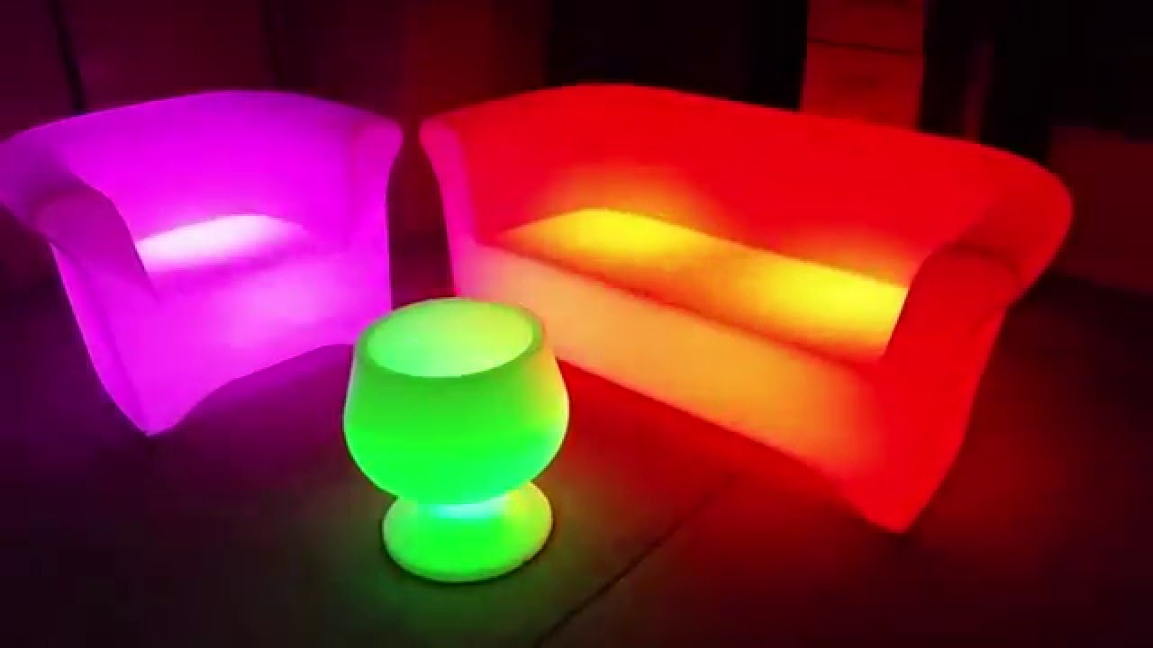 LED Light Up Furniture