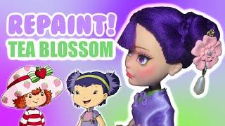 REPAINT! Tea Blossom | OOAK Art Doll