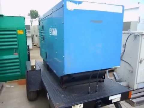 Diesel Mobile Generator - SDMO 40 KW, 60Hz John Deere