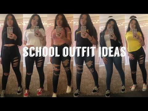 BACK TO SCHOOL OUTFIT IDEAS 2019 (pt.2) *baddie on a budget