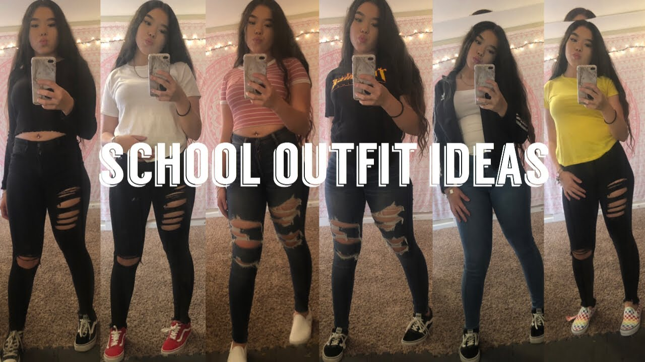 Back To School Outfit Ideas 2019 Pt 2 Baddie On A Budget