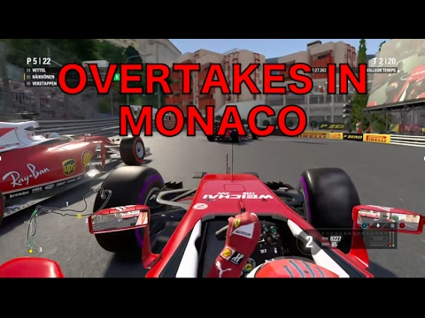 6 WAYS TO OVERTAKE IN MONACO - F1 2016