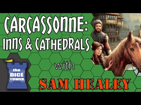 Carcassonne: Inns and Cathedrals  with Sam Healey