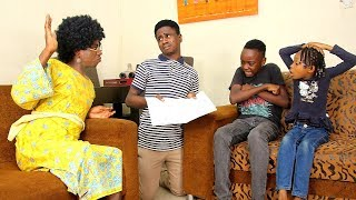 AFRICAN HOME | MY EXAMINATION RESULT (Mc Shem Comedian)