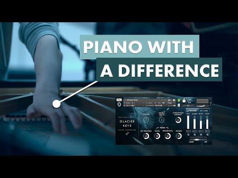 Glacier Keys - Walkthrough/Tutorial (Cinematic piano harmonics for Kontakt Player)
