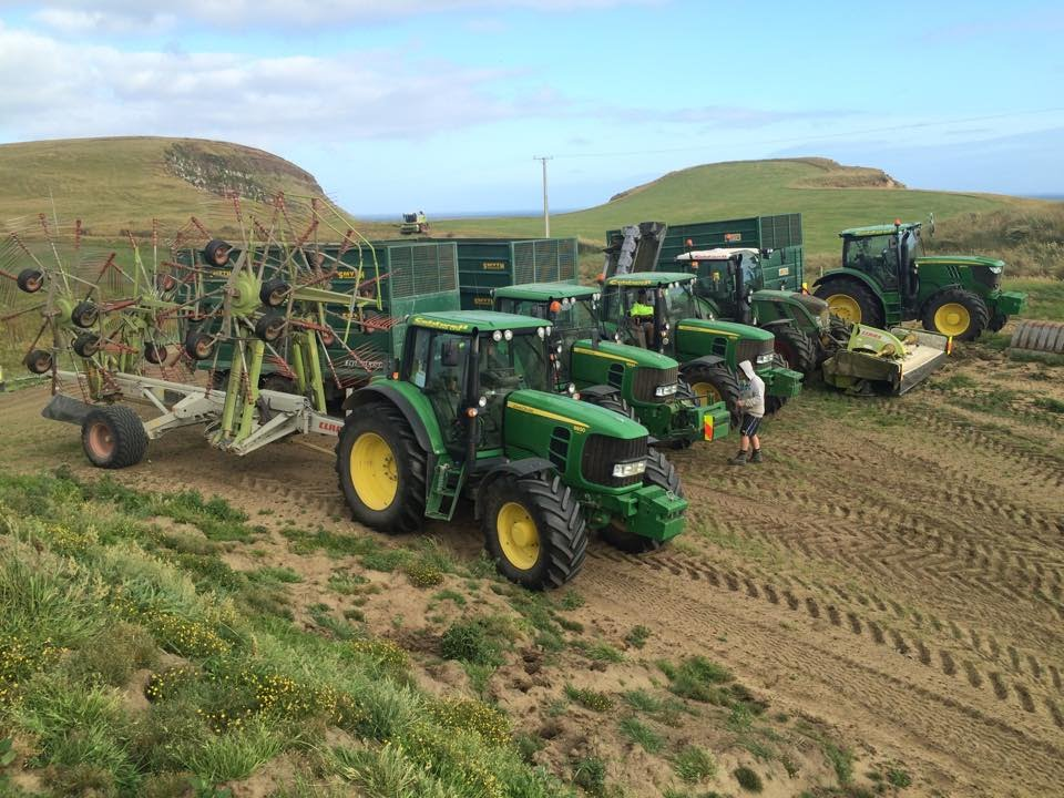 Caldwell Contracting Nz Silage 2014 2015 New Zealand