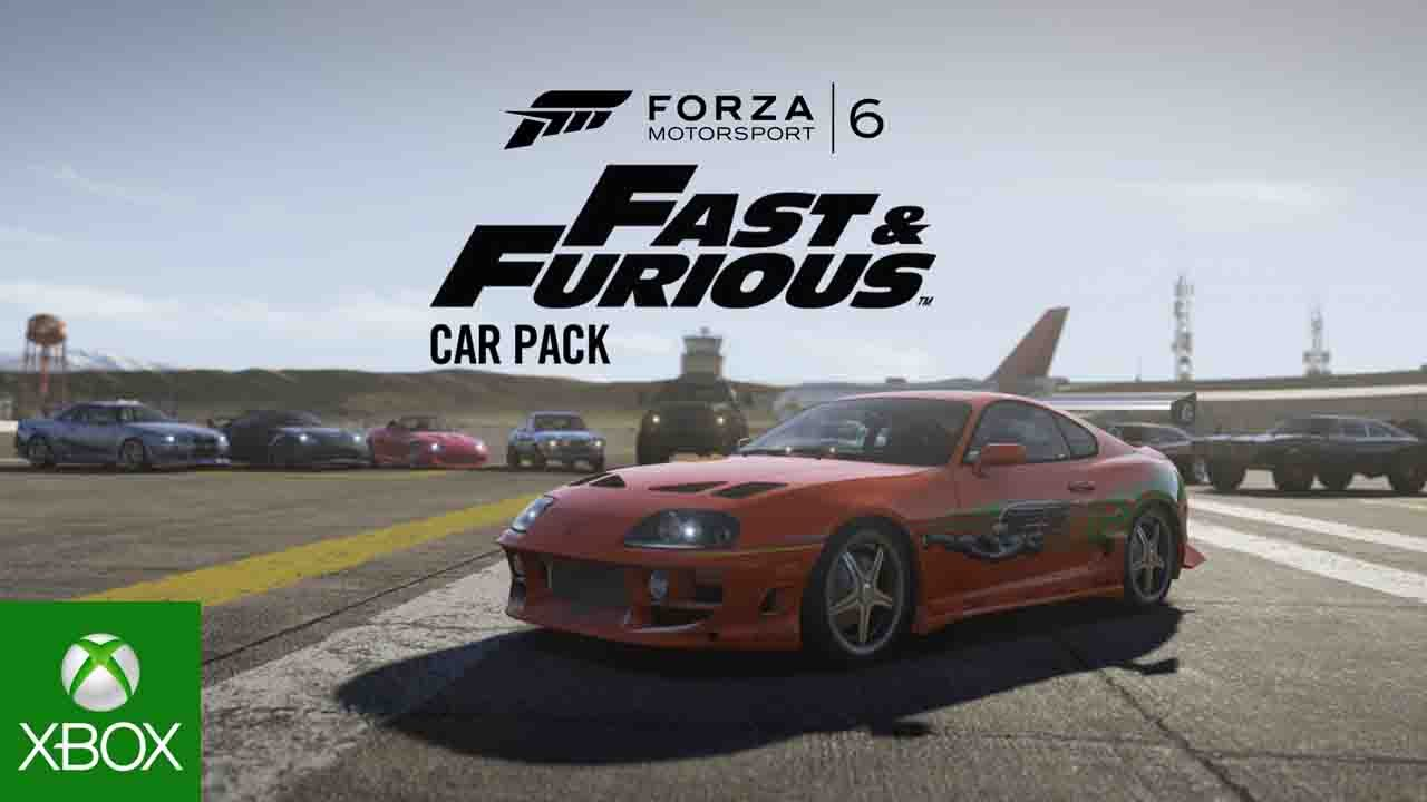 Forza Motorsport 6 Fast  Furious Car Pack  YouTube