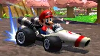 Mario Kart 7 - All 32 Courses (150cc Full Races)